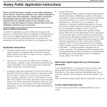 New York Notary Public Application Form
