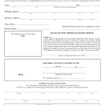 New Mexico Notary Public Application Form